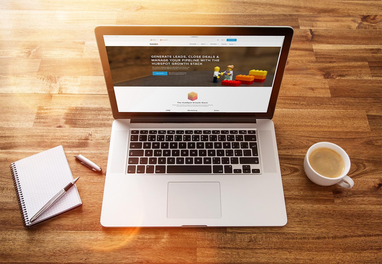 custom hubspot website design