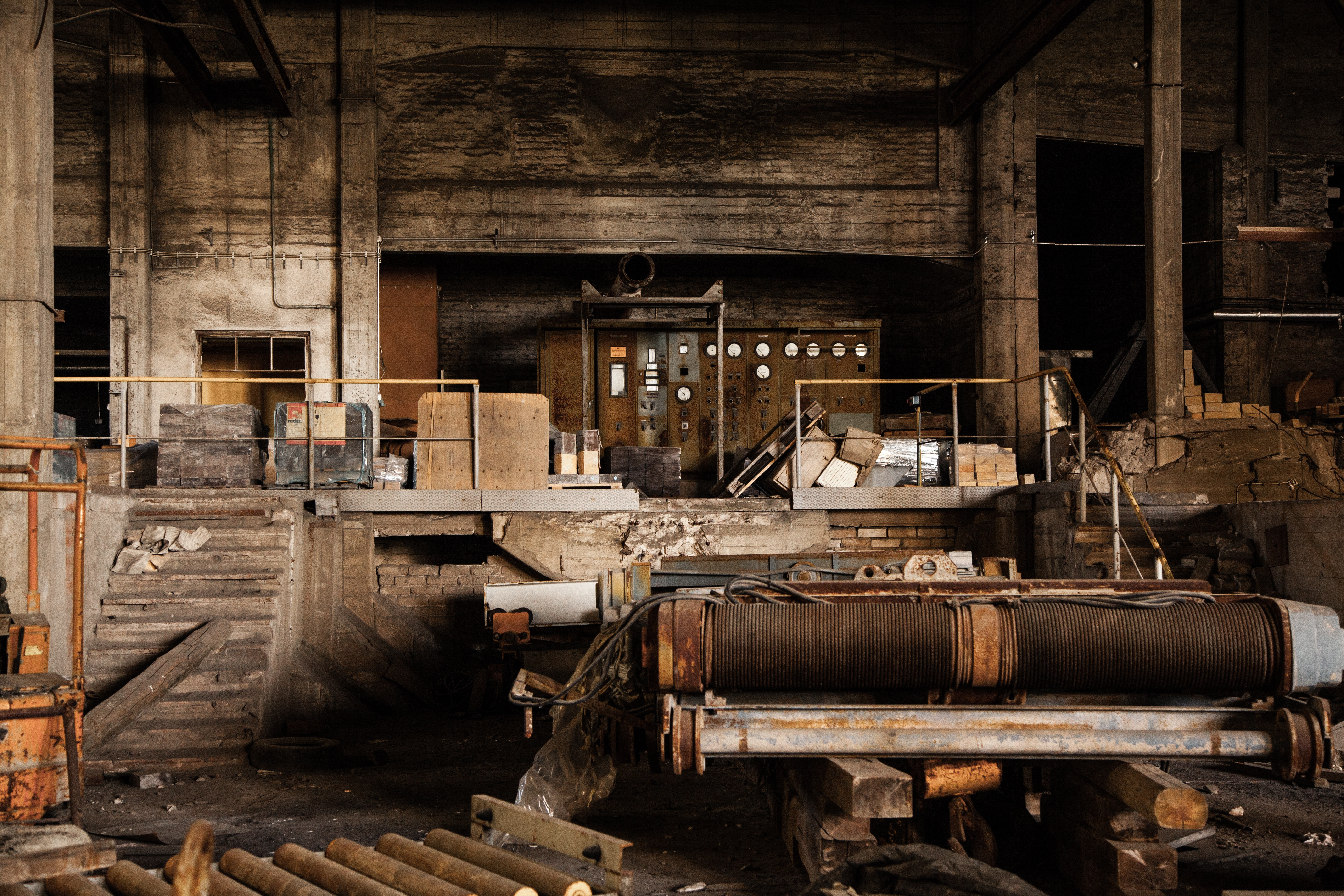 Automation: old factory